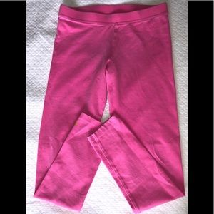 Lilly Pulitzer pink leggings large 8-10